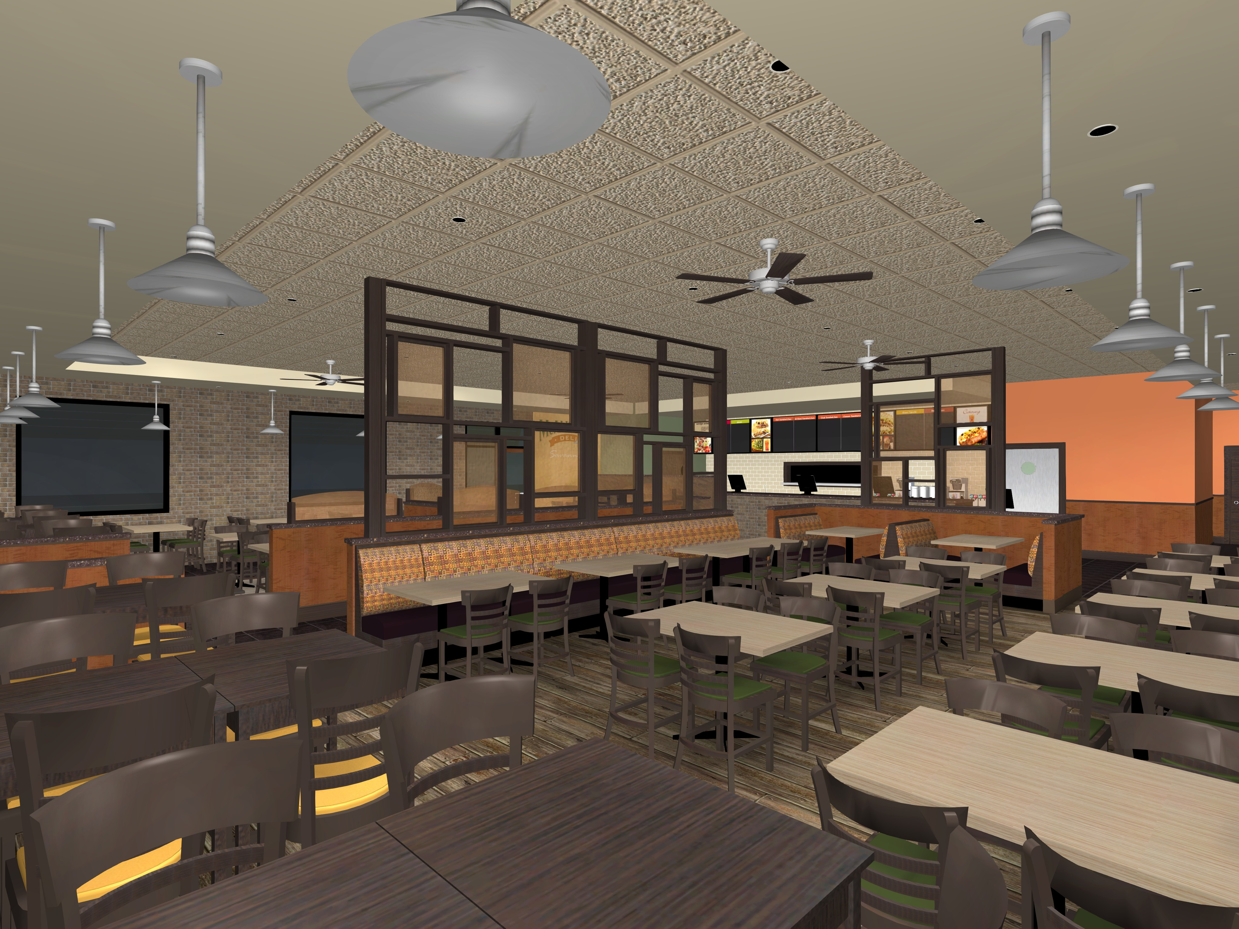Interior 3D Rendering - Commercial